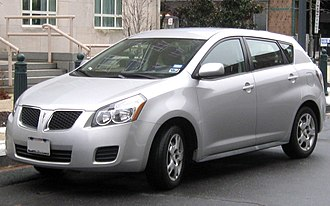 Pontiac Vibe - Image: 2nd Pontiac Vibe 1 12 26 2009