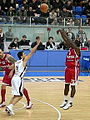 3-point shoot by Patrick Beverley 2011-03-19.JPG
