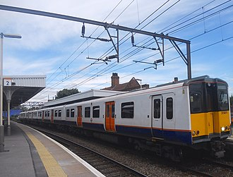 British Rail Class 315 - London Overground Class 315 at Hackney Downs