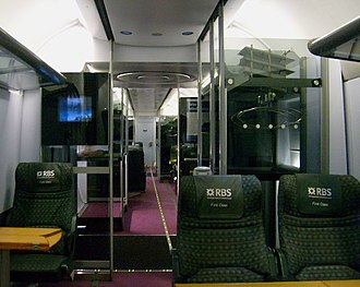 Heathrow Express - Original First Class interior