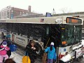 36 Broadway Bus on Clark Street during storm feb 2 2011.JPG