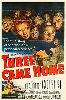 <i>Three Came Home</i> 1950 film by Jean Negulesco