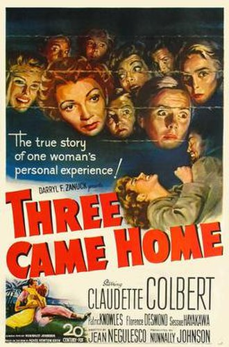 Three Came Home - Image: 3Came Home Poster