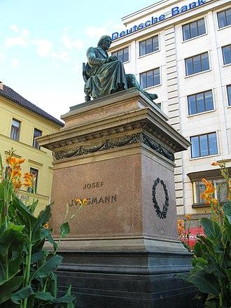 Josef Jungmann - Statue of Josef Jungmann in Prague.