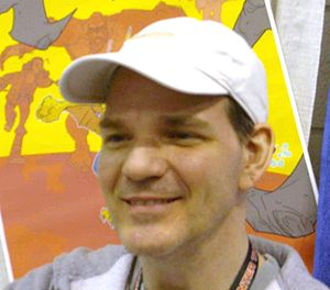 Todd Dezago - Todd Dezago at the 2008 New York Comic Con.