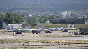 Komatsu Airport - JASDF 306th Sqn Mitsubishi F-15Js (2017)