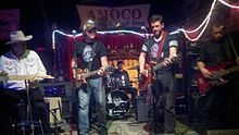 500 Miles to Memphis performing at The Garage in Winston-Salem, NC in 2011.jpg