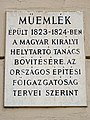 51 Úri utca, Budapest 1014 Hungary plaque.jpg