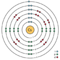 55 cesium (Cs) enhanced Bohr model.png