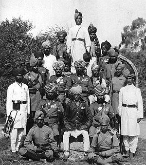 56th Punjabi Rifles (Frontier Force) - Image: 56th Punjab Rifles (8 FF) 1905