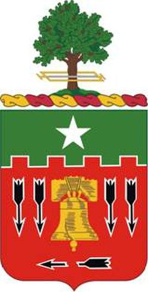 5th Field Artillery Regiment - Coat of arms