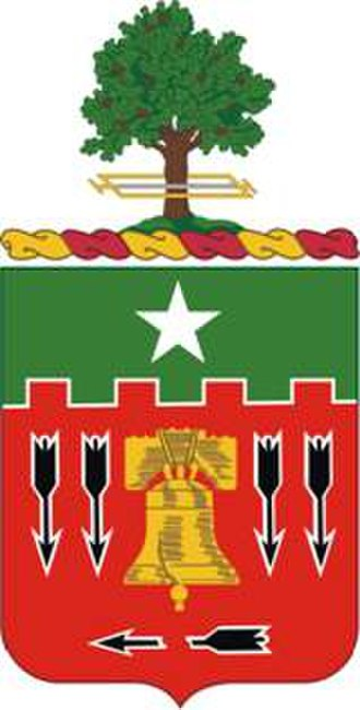5th Field Artillery Regiment - Coat of arms