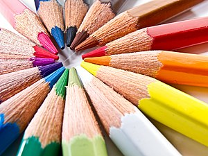 Colored pencil - A variety of colored pencils