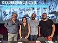6 de juliol de 2019 Jornades sobre la desobediència civil (48241027911).jpg