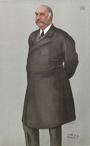 Alexander Bruce, 6th Lord Balfour of Burleigh - Caricature by Leslie Ward for Vanity Fair, 1902