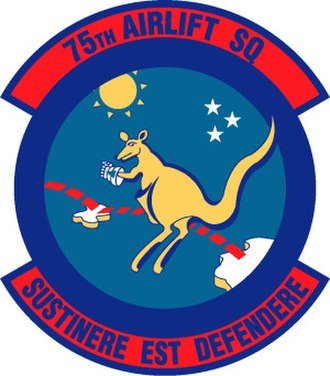 75th Expeditionary Airlift Squadron - Image: 75th Airlift Squadron