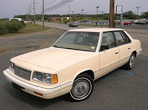 Plymouth Caravelle - 1988 Plymouth Caravelle SE
