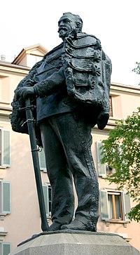 9271 - Milano - Enrico Cassi, Monumento a Giuseppe Dezza (1912) - Foto Giovanni Dall'Orto 22-Apr-2007.jpg