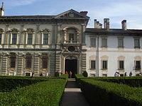 9573 - Cortile della Certosa di Pavia - Foto Giovanni Dall'Orto, 25-April-2008.jpg