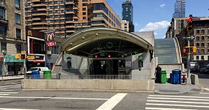 96th Street (IRT Broadway–Seventh Avenue Line) - Completed new headhouse