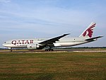 A7-BFE Qatar Airways Cargo Boeing 777-FDZ - cn 39644, 25august2013 pic-009.JPG