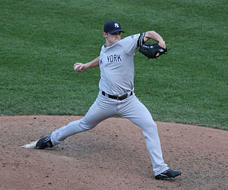 David Robertson (baseball) - Robertson pitching in 2008