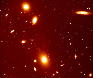 Galaxy groups and clusters - Galaxy cluster ACO 3341 seen by VLT's VIMOS