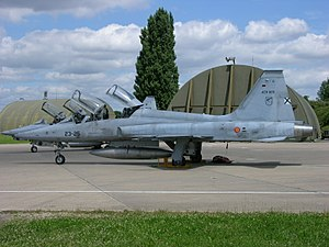 AE.9-005 23-25 F-5M Freedom Fighter Ala 23 Spanish Air Force Dijon AB 2008.jpg