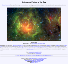 Nasa astronomy picture of the day archive