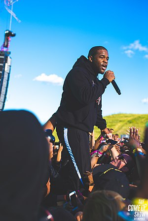 ASAP Ferg - Ferg performing in August 2017