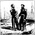 A COMISSÃO DE LIMITES DO BRASIL COM A REPÚBLICA DO PERU. Dom Francisco Carrasco (capitão de mar e guerra peruano) e José da Costa Azevedo (capitão-tenente da armada brasileira).jpg