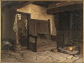 A Cottage Interior. Study (Wilhelm Wallander) - Nationalmuseum - 20769.tif