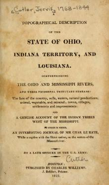 A Topographical Description of the State of Ohio, Indiana Territory, and Louisiana.djvu