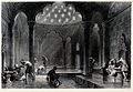 A Turkish bath. Engraving by M.J. Starling after T. Allom. Wellcome V0020027.jpg