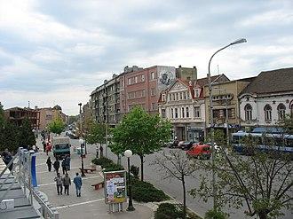 Jagodina - Image: A View from Iveks Caffe panoramio