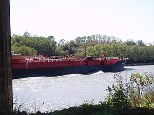 A barge on the Chesapeake & Delaware Canal.jpg