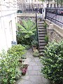 A basement garden in Laura Place - geograph.org.uk - 538670.jpg