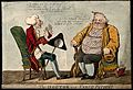 A doctor reprimanding an obese patient for not taking his me Wellcome V0010967.jpg