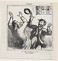 A happy evening party in Clichy, from 'News of the day,' published in Le Charivari, March 16, 1865 MET DP877358.jpg