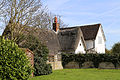 A listed cottage at Fyfield, Essex, England - Walker's Cottage, south-east from the church.jpg