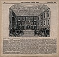 A meeting of the Royal Society at Somerset House in the Stra Wellcome V0013856.jpg