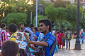 A photographer advertising his sevices at the Gateway of India (18566738741).jpg