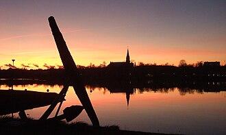 Kristinestad - Image: A sunset at the town of Kristiinankaupunki Finland