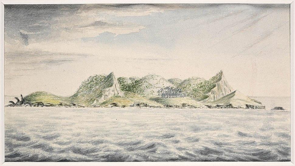 A view of Pitcairn's Island, South Seas, 1814, J. Shillibeer