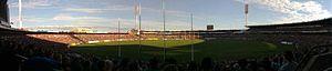 Football Park - Image: Aami stadium panoramic