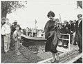 Aankomst Prinses Margriet bij 100-jarig bestaan van de Roei- en Zeilvereniging 'Het Spaarne, NL-HlmNHA 54002619.JPG