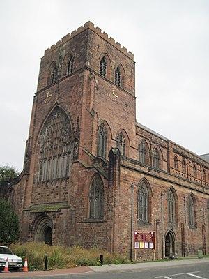 Abbots of Shrewsbury - Shrewsbury Abbey today.