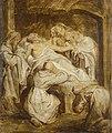Abraham van Dipenbeeck ('s-Hertogenbosch 1596 - Antwerp 1675) - The Death of St Anthony Abbot - RCIN 402993 - Royal Collection.jpg