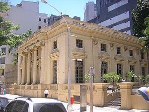 Brazilian literature - Academia Brasileira de Letras, Rio de Janeiro, Brazil.