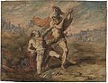 Achilles doodt Hector, circa 1831 - circa 1893, Groeningemuseum, 0041065000.jpg